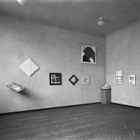 Exhibition Abstract Art, 1938. Photo Stedelijk Museum Amsterdam